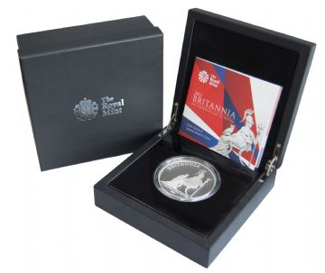 2013 Silver Proof Britannia £10 5oz